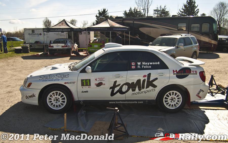 Car 11 Warren Haywood Ray Felice Lanark Highlands