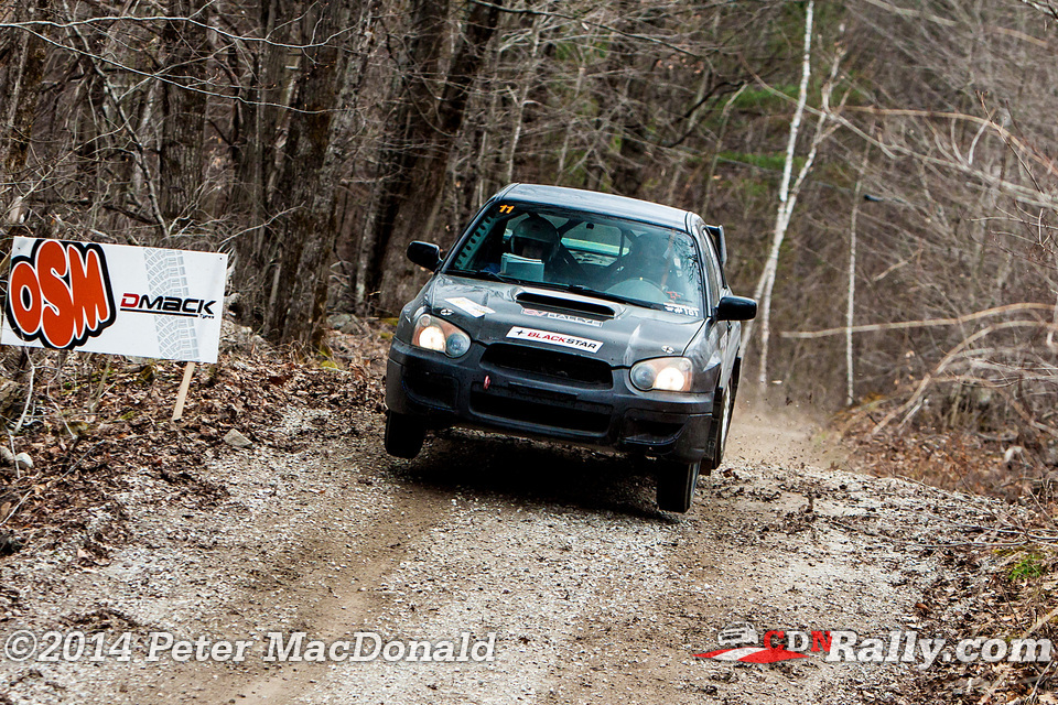 Car 11 Max Meconse Cindy Mccarron Lanark Highlands Forest Rally 2014 Photos Peter